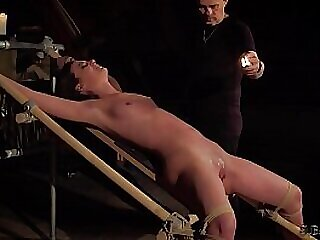 Teenager tied up and enduring pain