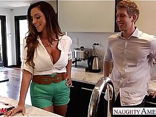 Busty Milf fucked by young dude