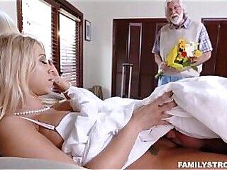 Big Tits Blonde MILF Step Mom Caught Masturbating By Step Son