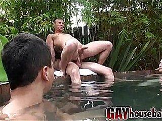 Gayhousebait Jacuzzi Groupsex