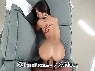 Tiny Asian fucked by huge dick