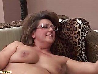big ass sexy mature enjoys a young strong dick