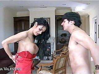 Tattooed Angelina Valentine gets pussy fucked