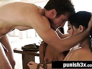 Rough Masked Stalker Fucks Lesbian Teen Couple - Karly Baker & Nicole Bexley