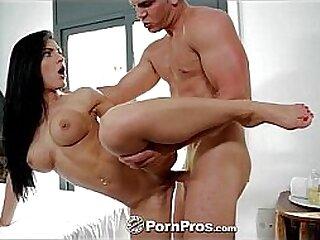 HD - PornPros Dark haired vixen Honey Demon gets a deep massage