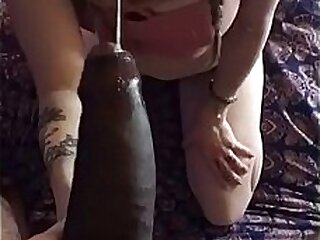 Karla gets anal creampie on s.