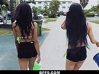 BFFS - Wild Teen Babes (kirsten) (layla) (zoe) In Group Sex