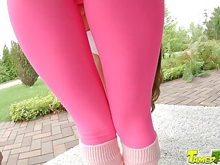 Tamed Teens Cute teen girl gets rough anal she will never forget