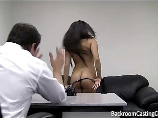 Incredible Teen Anal Casting