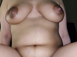 Indian Couple first sex with wife after pregnancy