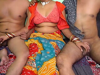 Indian Wife Gangbang With Husband And His Friend