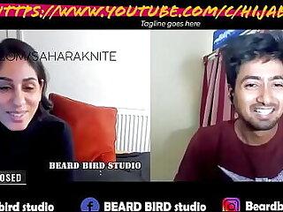 Sahara Knite promo podcast with Beard Bird studio on youtube https://www.youtube.com/c/HijabiBhabhi